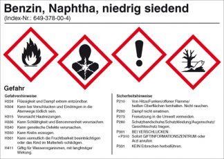 Gefahrenstoffkennzeichnung