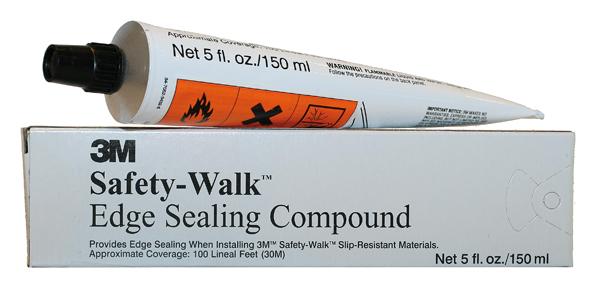 3M Safety-Walk - Kantenschutz zur nachträglichen Versiegelung der  Markierungskanten eine Tube ausreichend für ca  40 m